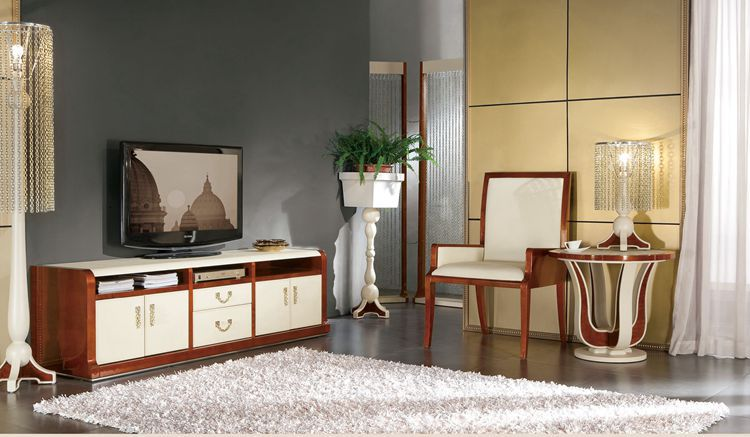 Italian design home furniture living room furnitue Tv stand living room cabinet YS001-Tv s(China (Mainland))