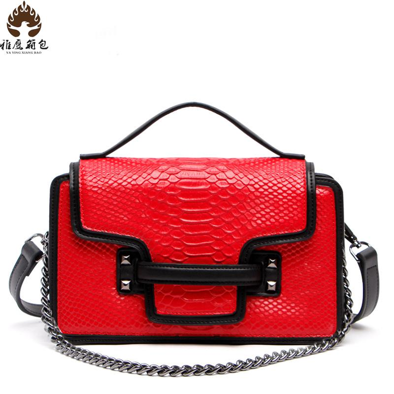 2016 Woman Handbags Designers Brand Women Messenger Bags Women Shoulder Bag Genuine Leather Shoulder Bag For Girls Chain Bag01<br>