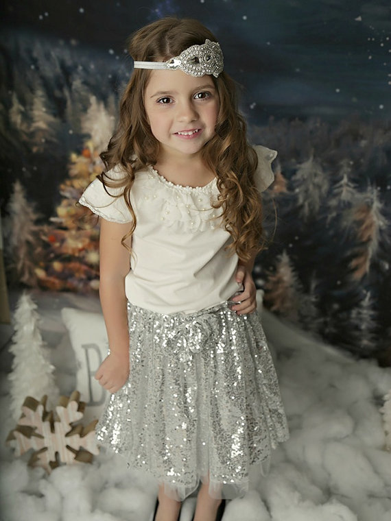 Girls gold Sequin Tutu skirt,baby first birthday,silver sequined pettiskirt,Sparkle Shimmer,Pageant Kids Gold Skirt posh gold(China (Mainland))