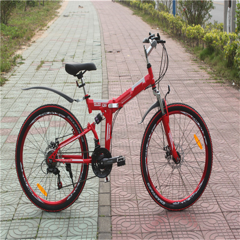 2015 newest style Bicycle 26 inch folding bicycles 21speed mountain folding bikes(China (Mainland))