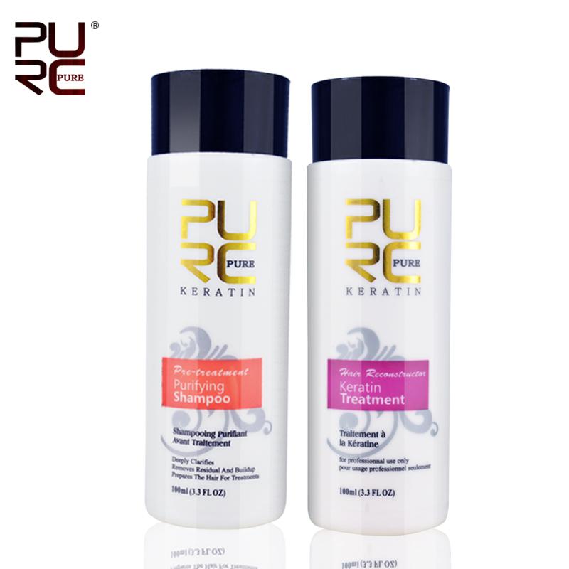 Keratin straightening and hair treatment Brazilian chocolate keratin treatment formalin 5% hair straightener set free shipping(China (Mainland))