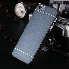 4s Hot Luxury Aluminum Metal Brush Case for iphone 4 4S Phone Accessories Hard Back Cover