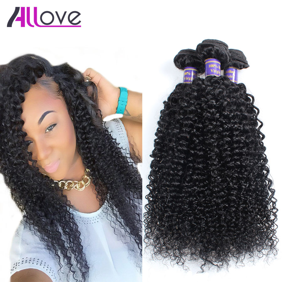 Brazilian Kinky Curly Virgin Hair 3 Bundles Brazilian Virgin Hair Kinky Curly Human Hair Weave Cheap Brazilian Curly Virgin Hair