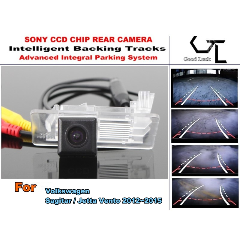 Advance Japan imports HD CCD Backing Tracks Chip For Volkswagen VW Sagitar 2012~2015  ackup Rearview Camera / High Quality<br><br>Aliexpress