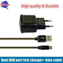 Buy Universal EU Travel Wall Charger Android Phone Charger + Micro usb cable Charging mobile phone/Android pad Huawei/Xiaomi for $7.60 in AliExpress store