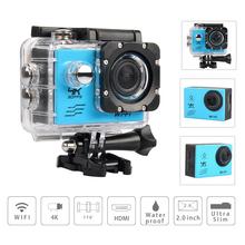 Buy Action camera deportiva Video CAmera Ultra HD 4K WiFi 1080P 60fps 2.0 LCD 170D sport go waterproof pro camera Fotografica Cam for $38.49 in AliExpress store