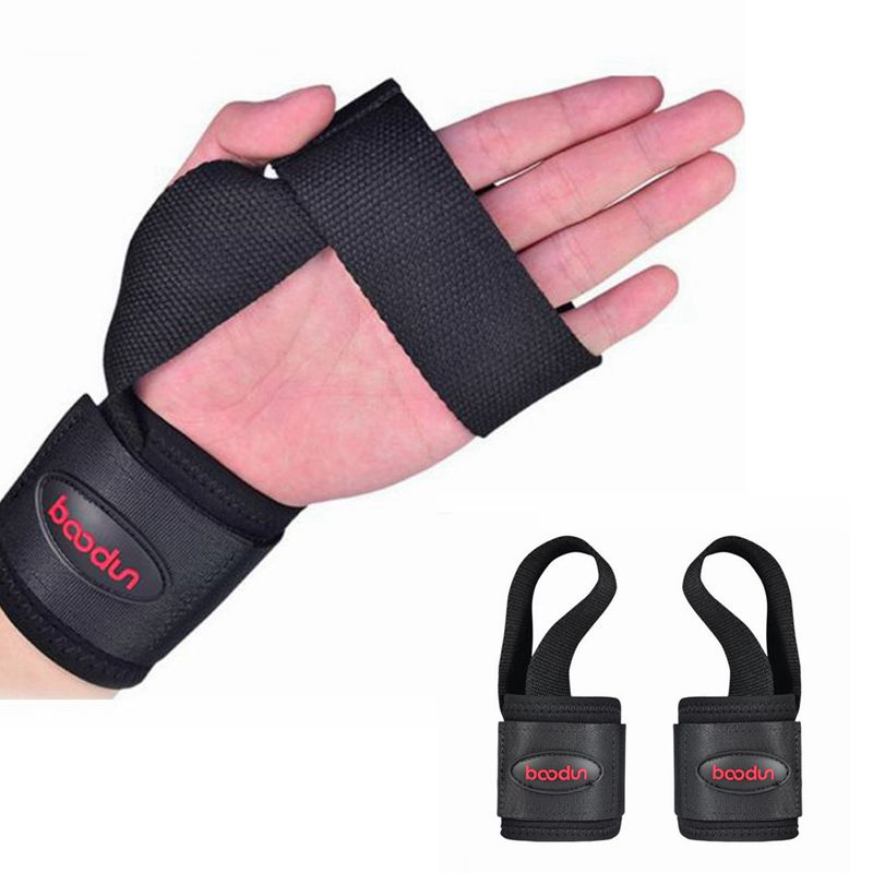 1pair Adjustable Elastic Wrist Support Slidproof Wrist Strap Weight Lifting Wrist Protectors Wristguard Bandage(China (Mainland))