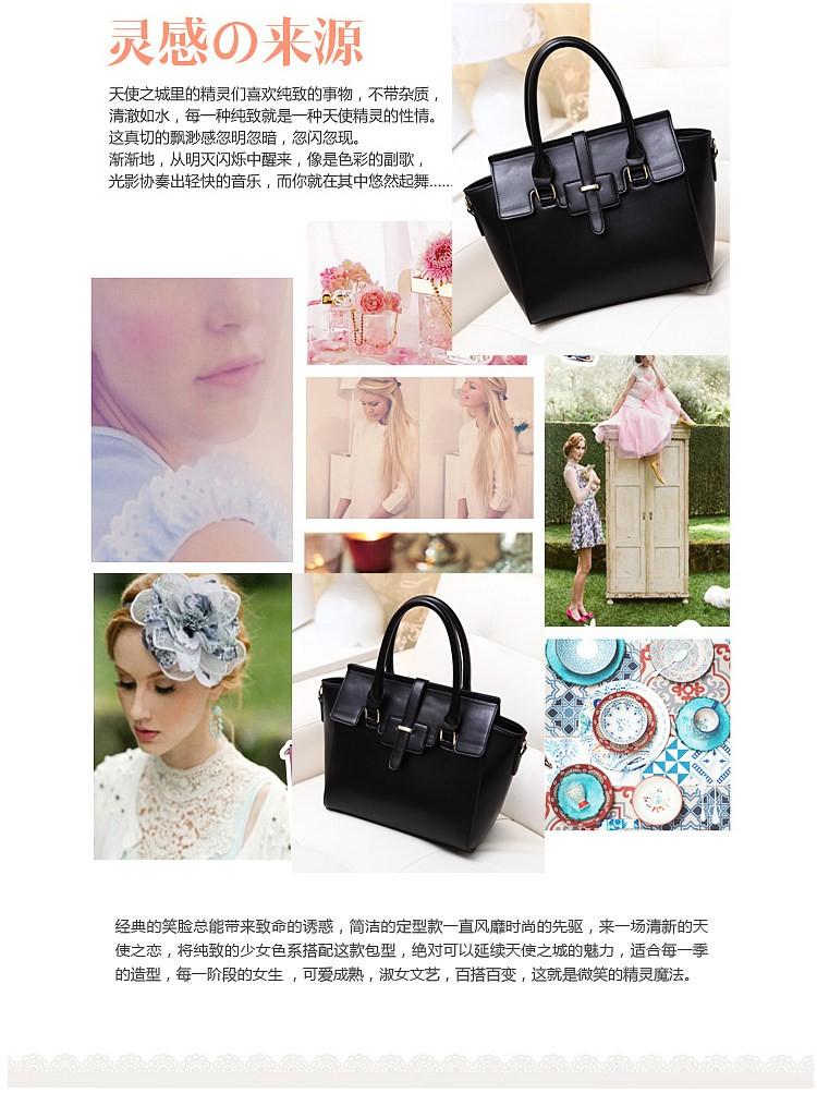 ซื้อ 2016ใหม่ขนาดใหญ่ในยุโรปและอเมริกาแฟชั่นคลาสสิกกระเป๋าถือกระเป๋ามือกระเป๋าหนังสุภาพสตรีน้ำอีเมลถุง