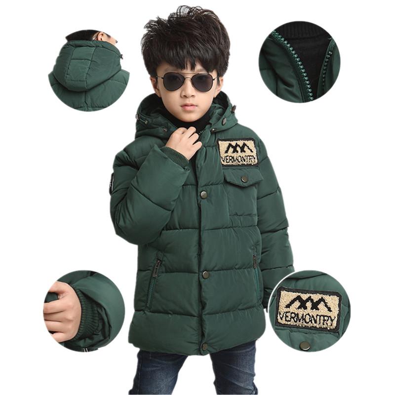 Гаджет  Boys Jackets  2015 winter big virgin thicker jacket  new long section of warm  Children down jacket None Детские товары