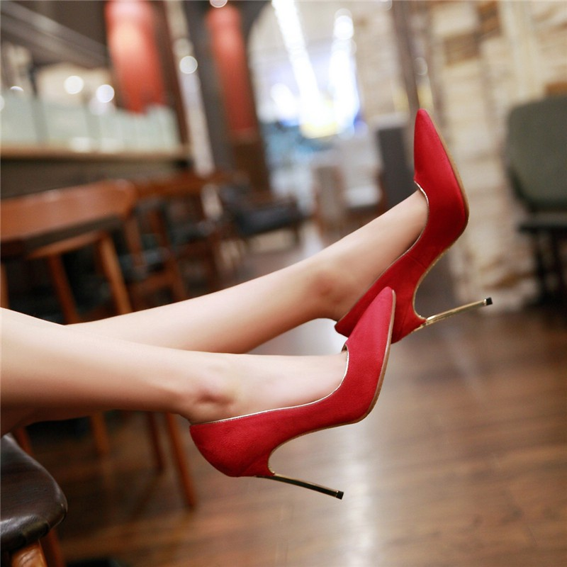 HTB1G4knLFXXXXcnXpXXq6xXFXXXr - LOVEXSS Womens Size 10 Heels Metal Heel Stiletto Glitter Wedding Pumps Large Size 34 - 43 Black Golden Silver Heels Shoes