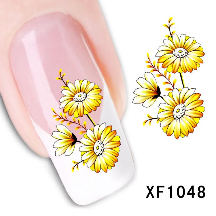 Ногти желтый дизайн