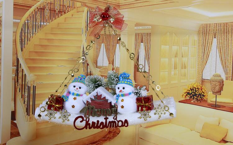 Decoracion de navidad para puertas papa noel - Decoracion de puertas de navidad ...