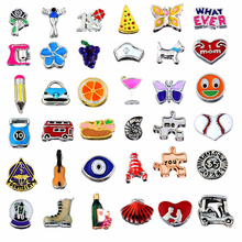 Buy Lots Varieties!50pcs/lot Mixed Different Design Floating Charms Glass Living Lockets DIY Jewelry Accessories for $5.80 in AliExpress store