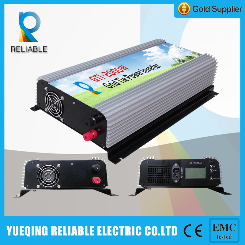 2000w 45-90V DC INPUT wide voltage grid tie solar inverter(China (Mainland))