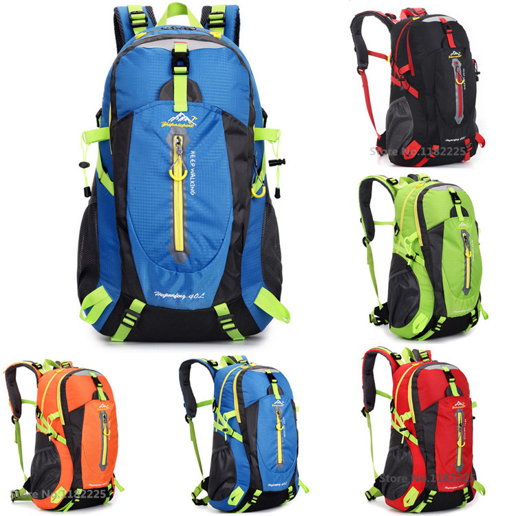 40L Waterproof Women&Men Travel Backpack Outdoor mountain Camping Mochilas Climbing Hiking Backpack Bagpack Sport Back Bag 2015(China (Mainland))