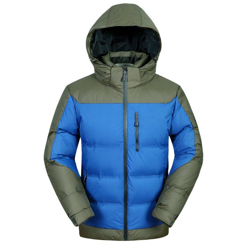 Скидки на ГОРЯЧАЯ ПРОДАЖА 2016 мужская новый зимний пуховик с капюшоном мужские Пальто Куртки мужские пальто 6015