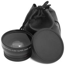 Buy HD 0.45x 52mm Super Wide Angle Lens Macro Lens Carry Bag Nikon D800, D3200, D3100, D5100,D7000 for $9.62 in AliExpress store