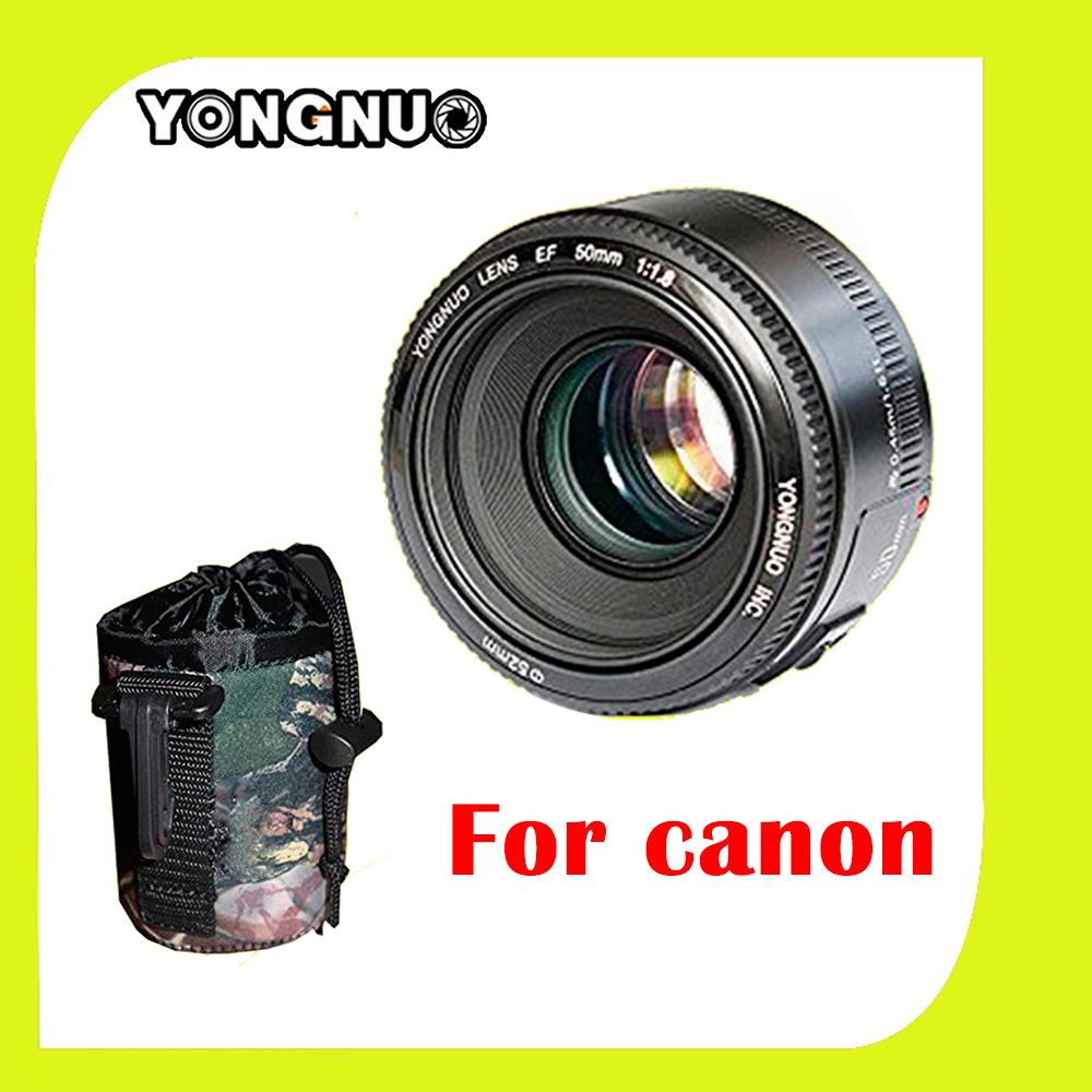 YONGNUO YN50MM Fixed Focus <font><b>Lens</b></font> EF 50mm F/1.8 AF/MF Lense yn50mm Large Aperture Auto Focus <font><b>Lens</b></font> For Canon OR <font><b>Nikon</b></font> DSLR Camera