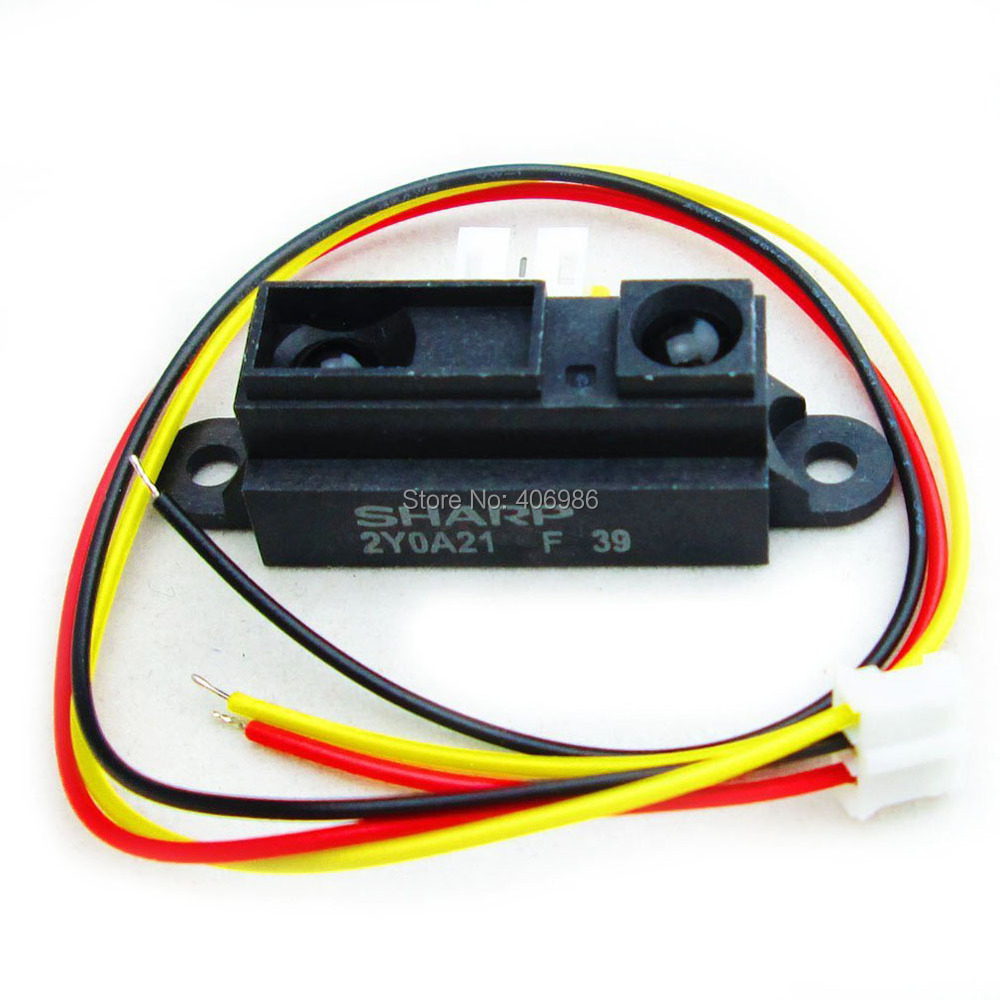 Sharp IR Sensor GP2Y0A21YK0F Measuring Detecting Distance Sensor 10 to 80cm with Cable for Arduino FZ1268