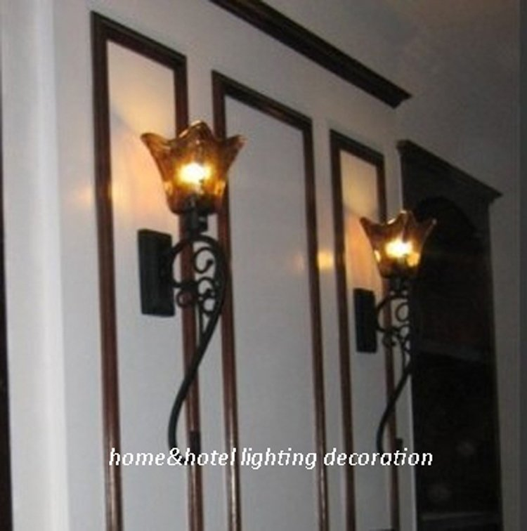 Antique black wall sconce classic large wall lighting industrial wall lamp Online shopping for ...