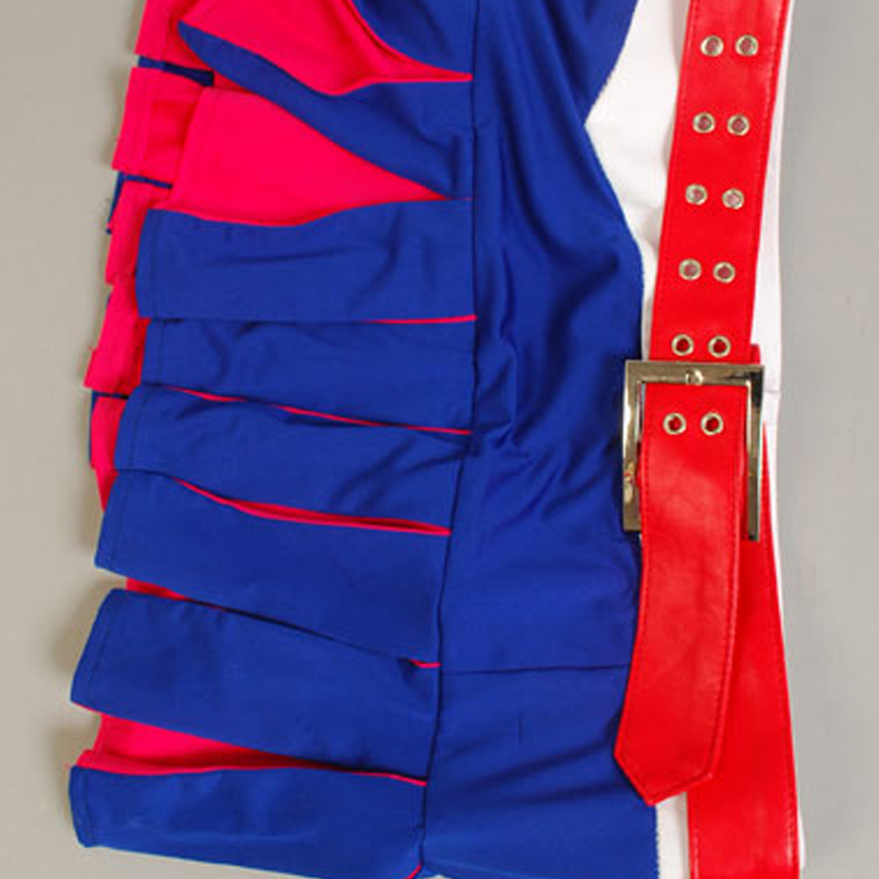 Lollipop Chainsaw Juliet Starling Uniform Girls Dress Top Party Halloween Cosplay Costumes For Women Free Shipping