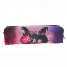 Sunglasses Cat 3D printing Cosmetic Cases women cosmetic bag Zohra Fashion New pencil bag pouch 2016 Hot Now neceser makeup bag(China (Mainland))