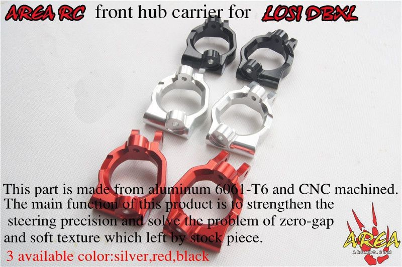 Area Rc front hub carrier for LOSI DBXL<br><br>Aliexpress