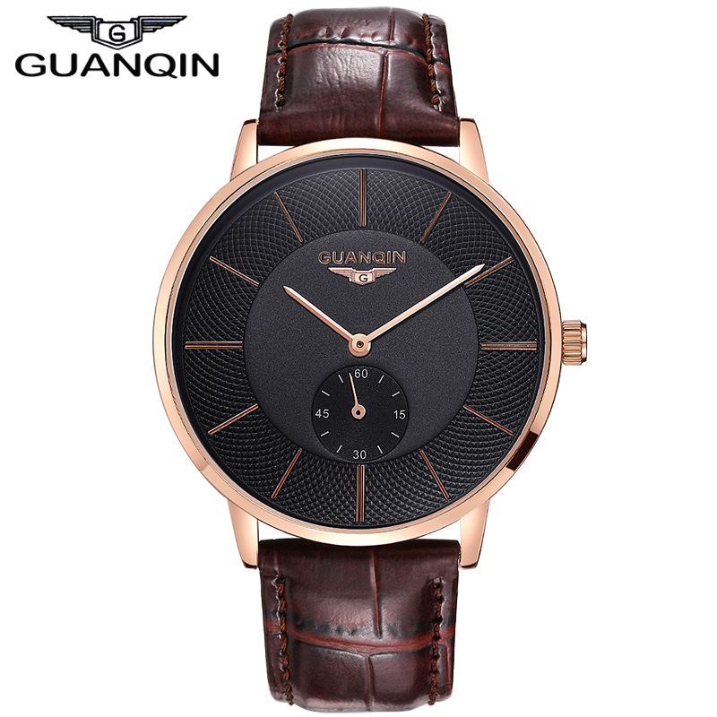 Guanqin 2016 New Fashion Luxury Watches Men Top Brand Quartz Watch Casual With(China (Mainland))