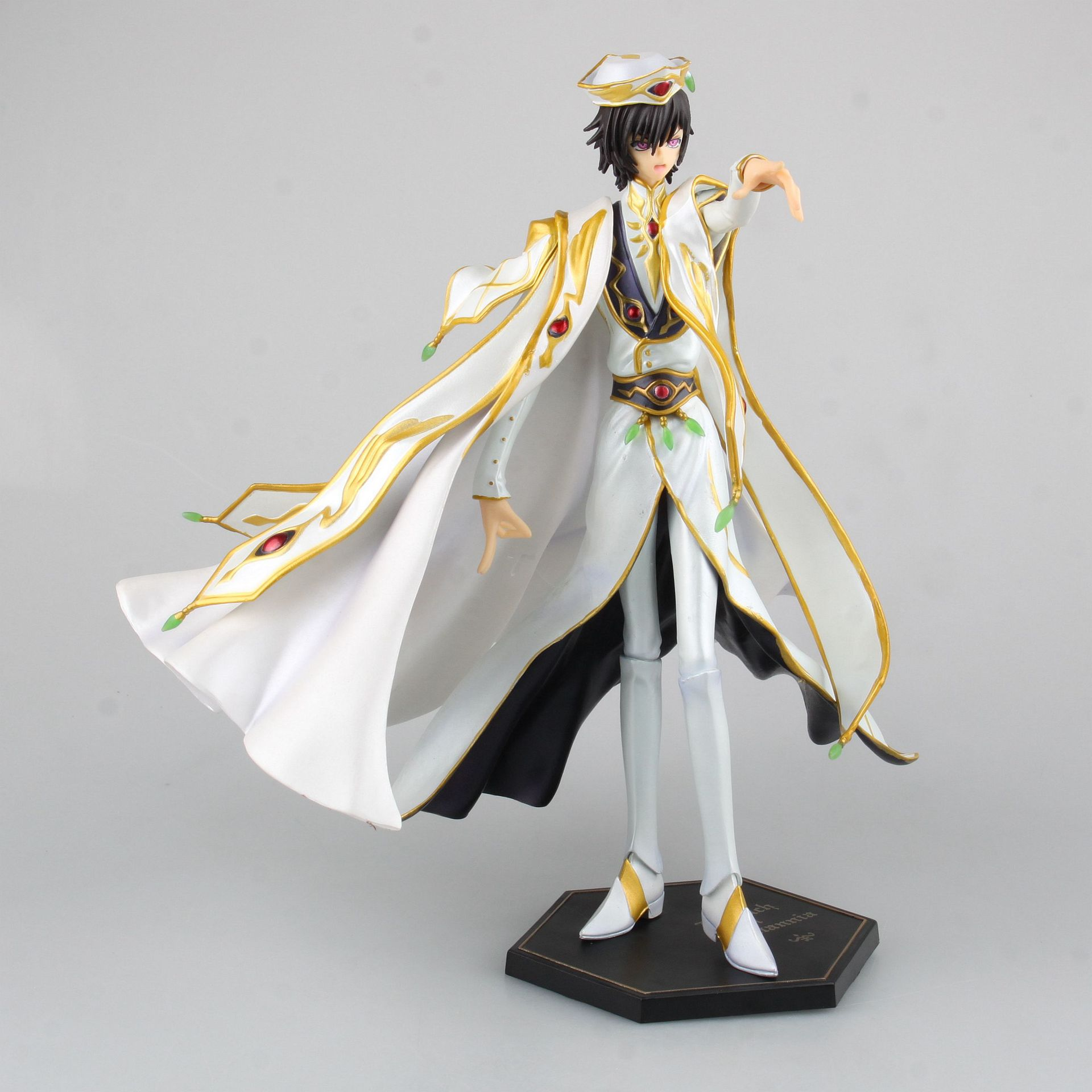 1pcs 24cm pvc Japanese anime figure Code Geass Lelouch Lamperouge action figure collectible model toys brinquedos(China (Mainland))