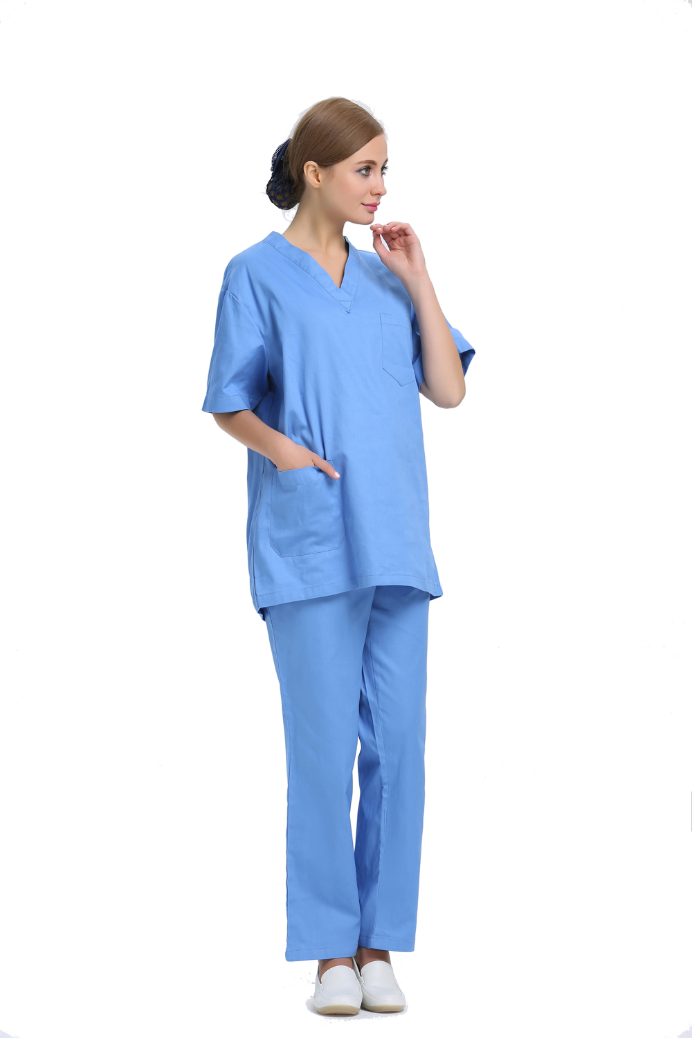2015 OEM scrub sets hospital workwear medical scrub suit physician service hot sale for summer(China (Mainland))