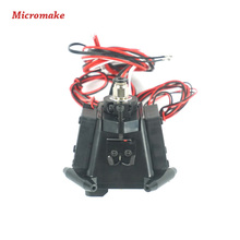Micromake 3d Printer Parts Kossel Reprep Plastic Injection New Auto-level Effector with J-head Nozzle Full Assembly(China (Mainland))