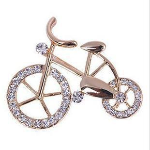 Wholesale Korea cute retro cycling suit corsage brooch crystal brooch upscale shawl scarf buckle pin buckle Brooches(China (Mainland))