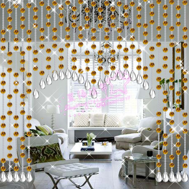 Crystal bead curtains finished product curtain for entranceway(China (Mainland))
