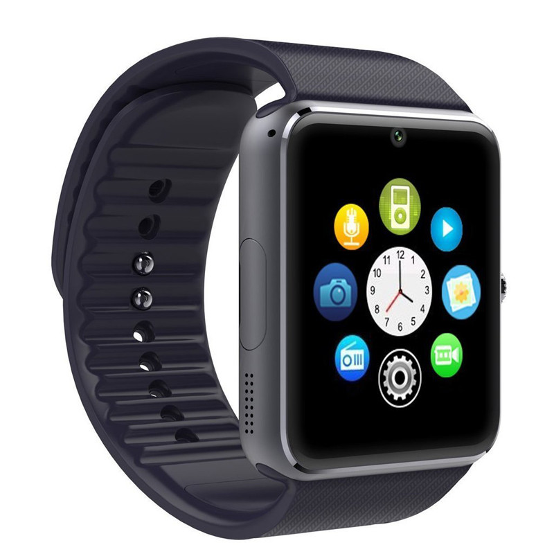 Bluetooth Smartwatch GT08 Smart Watch for iPhone 6/puls/5S Samsung S4/Note 3 HTC Android Phone Smartphones Reloj Inteligente<br><br>Aliexpress