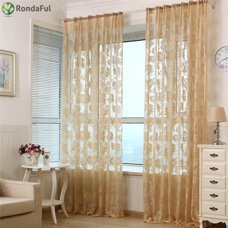 Buy hot sale curtain 100 250cm for living for Home decor items on sale