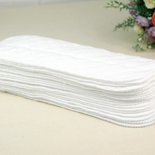 5 pcs baby diapers 3 layers Eco Cotton disposable diapers nappy baby products Unisex diapers for