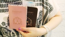 Big Discount Wholesale Free transport, passport holder, passport holder, card sets 1pc Free shipping !!!