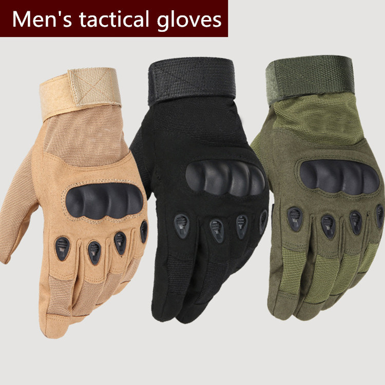 Hot sale tactical gloves outdoor cover finge army gloves antiskid sports microfiber mens sports gloves JXY0146