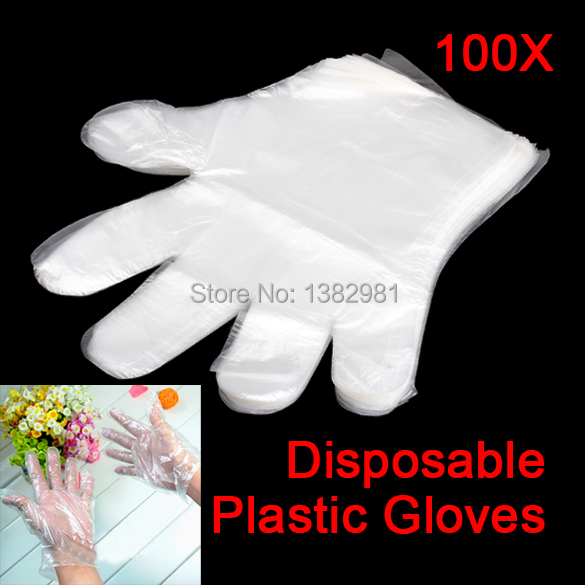 Disposable PE Garden Home Restaurant BBQ Plastic Multifuction Gloves AO#P(China (Mainland))