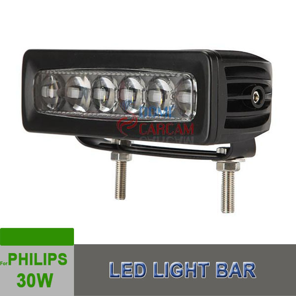 30w LED Spot Light Motorcycle Car boat Off Road Waterproof headlight Racing Car For Philips New Products 2015(China (Mainland))