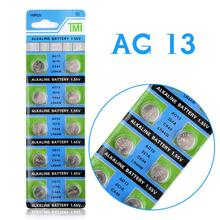 Hot selling 10 Pcs AG13 LR44 357A S76E G13 Button Coin Cell Battery Batteries 1.55V Alkaline EE6214(China (Mainland))