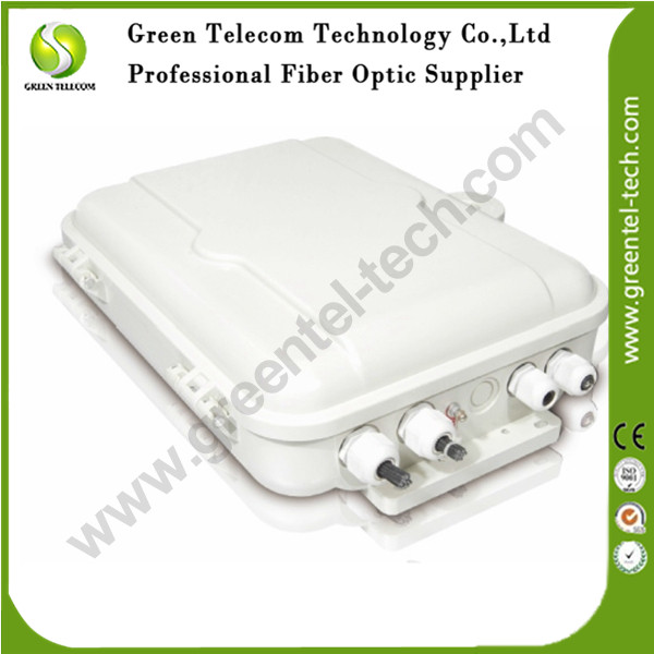 Greentel FAT-16 cores Fiber Access Terminal, Fiber Terminal Box, FTTx Fiber Distrubution Box, Fiber Optic FTTH Box(China (Mainland))