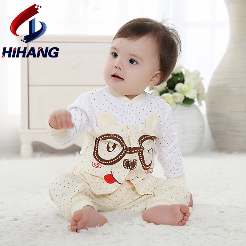 2015 baby girl boy clothes infant 2pcs winter clothing set