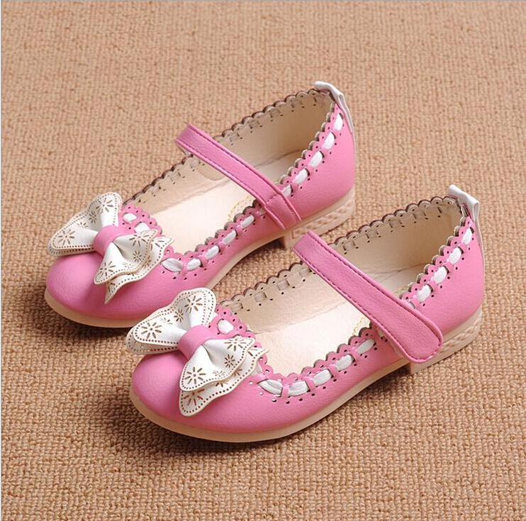 Children Shoes 2016 Kids Sneaker Girls Flat Sole Blue Pink White Insoles 13-21.5CM - Online Shop NO.1 store