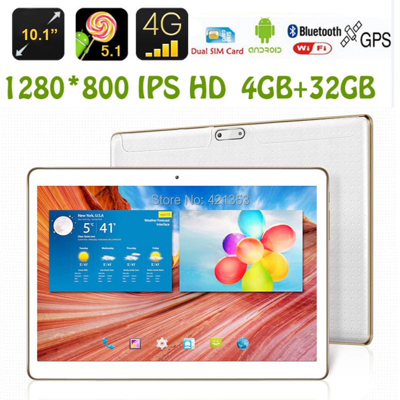 "Free Shipping 2016 Newest Octa Core 3G 4G Lte 10 inch Tablet PC 4GB RAM 32GB ROM Dual SIM Android 5.1 GPS Tablet PC 10"" +Gifts(China (Mainland))"