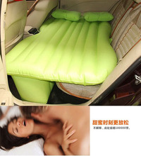 High Quality Inflatable Car Bed for Back Seat Car Air Mattress Travel Bed Car Back Seat Cover Inflatable Mattress Air Bed(China (Mainland))