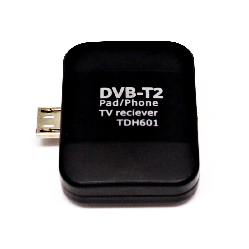 DVB T2 Pad Phone TV Receiver HD Digital TV Tunner for Android Pad Cellphones DVB-T2 Satellite Receiver Mini Portable TV Stick(China (Mainland))