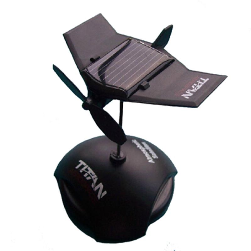 Free Shipping+ DIY Solar Toys Plastic 2 Kind of Black Hawk, Automobile Decoration + Airplane Model<br><br>Aliexpress