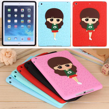 Anti-knock soft silicon Zoey tablet PC for 7.9 inch  Apple iPad mini 3 2 1 accessory protective  case shell skin back cover