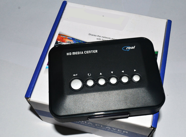 Mini 1080P HD Media Player with HDMI/AV/USB/SD/MMC/USB Host funciton - Black/Blue/Silver(China (Mainland))